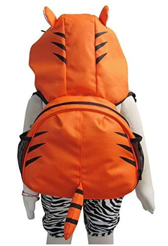 Tierkinderrucksack Kleinkind Jungen Mädchen Rucksäcke Tasche mit Kapuze, Original-Certified Kidland 2-6 Jahre (viele Entwürfe) (Tiger)