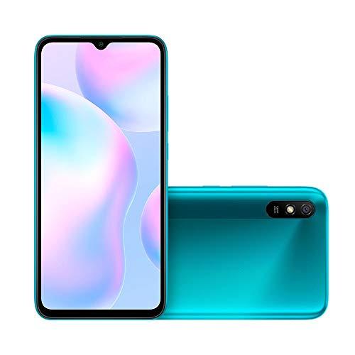 Smartphone Xiaomi Redmi 9A Tela 6.53 32GB 13MP 4G Peacock Green CX298VRD
