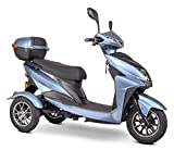 eWheels EW-10 Sport 3-Wheel Mobility Scooter - Blue