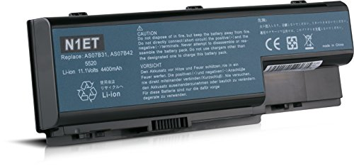 Laptop Battery for Acer Aspire 4400mAh 10.8V AS07B71 AS07B31 AS07B32 AS07B51 AS07B61 7738G 7740 7720 7720G 7730 7730G 7735 7735Z 7735ZG 7736G 7520 7736Z 7736ZG 7530 7530G 7535 7535G 7540 7540G