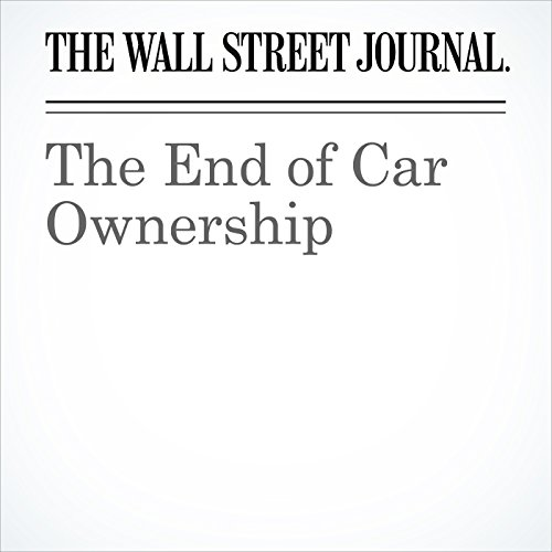 The End of Car Ownership copertina