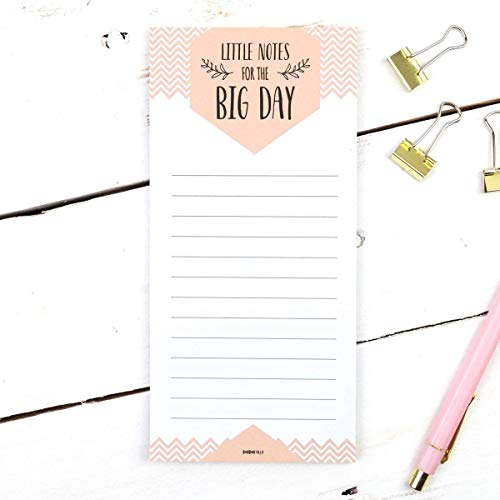 Notizblock Hochzeitsplanung *little notes for the big day*, Hochzeitsplanung, To-Do-Liste