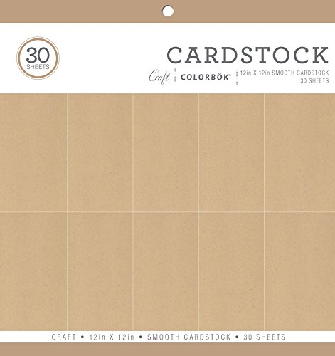 ColorBok 71911A Smooth Cardstock Paper Pad, 12