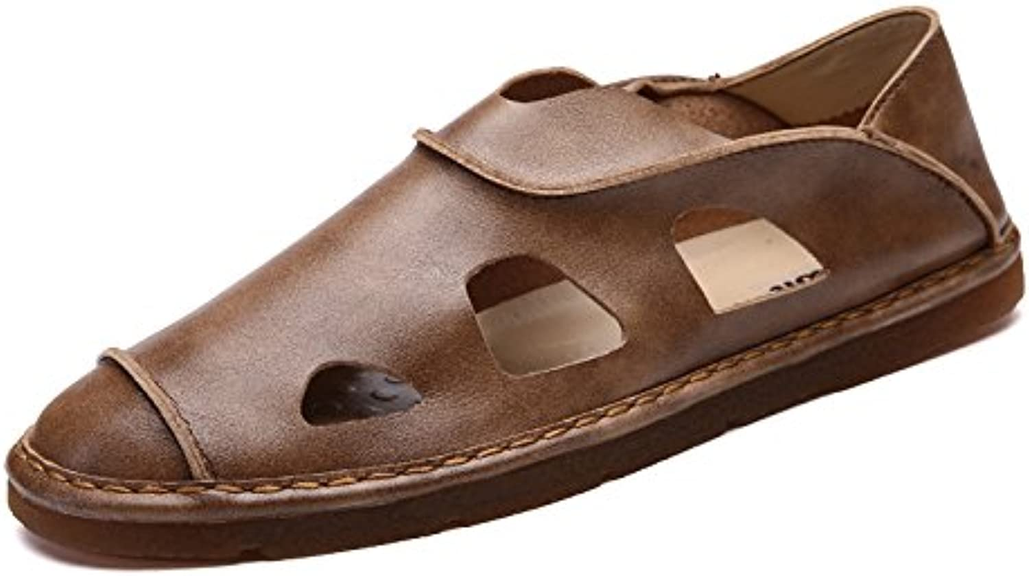 @Sandals Summer New Edition Men'S Cave Ventilation And Leisure Baotou Beach shoes Summer