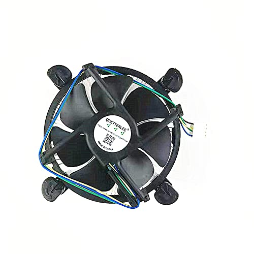 New heatsink and CPU Cooling Fan for Intel i3/i5/i7 lga 115x 1150 1151 1155 1156 Series E97379-003 D34223–001 D75716 D95263 E18764 E33681–001 E97375 E97378–001 CNDP751K50 DTC-DAB16 4-PIN 3.5-Inch Fan
