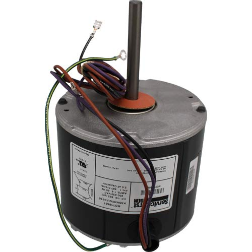 Trane American Standard GE Genteq FAN MOTOR 1/6 HP 200-230v 5KCP39HFAC16AS