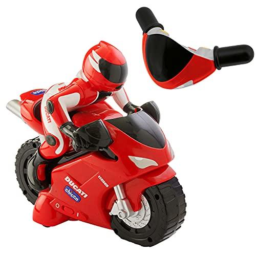 Chicco Ducati 1198 RC Moto Telecomandata con Manubrio Radiocomando Intuitivo, Moto Radiocomandata con Clacson e Rombo del Motore - Regalo Bambino 2 Anni in Su, Giochi per Bambini 2 Anni - 6 Anni