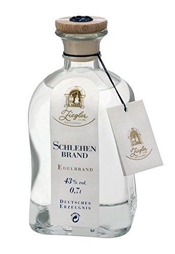 Ziegler Obstbrand Schlehenbrand Obstler 43% 0,7l Flasche