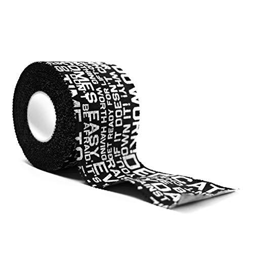 All In All Out Premium Tape Lift Sporttape für Weightlifting, Olympisches Gewichtheben, Crossfit, Fitness, Sport - Schutz für Daumen und Finger, 50mm x 9,1m