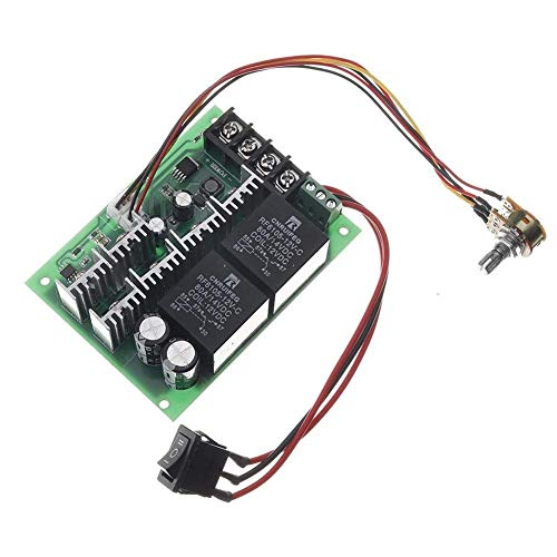 HYY-YY DC 10-50V 12/24/48V 60A PWM DC Motor Speed Controller CW CCW Reversible Switch Module Woodworking Tools
