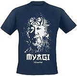 Karate Kid Myagi - Camiseta Oficial para Hombre Azul Azul M