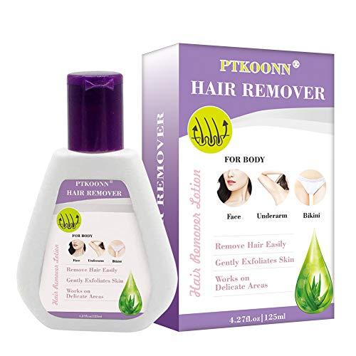 Enthaarungscreme,Haarentfernungscreme,Hair Removal Cream,Haarentfernung Enthaarungsmittel Schmerzlose Haarentfernung Creme auf Gesicht,Bikini,Unterarm,Schnelle & effektive