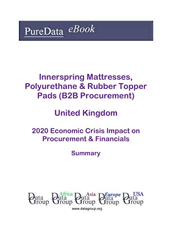 Innerspring Mattresses, Polyurethane & Rubber Topper Pads (B2B Procurement) United Kingdom Summary: 2020 Economic Crisis Impact on Revenues & Financials (English Edition)