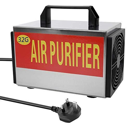 WYZXR 220 V 32 g h máquina de ozono generador de ozono purificador de Filtro de Aire con Interruptor de sincronización ozonizador ozonizador para el formaldehído del Coche doméstico