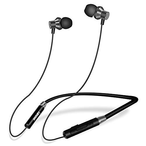 RegeMoudal Bluetooth Headphones Sport,Bluetooth 5.0 Wireless Sport Earphones,HiFi Sound,Waterproof Running Headphones w/CVC 6.0 Noise Cancelling Mic, Running, Gym, 8 Hours Play Time
