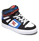DC Shoes Pure High-Top Ev-für Jungen, Zapatillas Bebé-Niños, Black White Royal, 20.5 EU