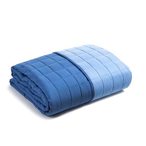C A L E F I Caleffi Tagesdecke, gesteppt, einfarbig, modern Einzelbett Kornblumenblau