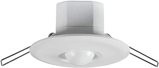Knightsbridge Microwave Sensor de Movimiento de microondas, Blanco, OS0010