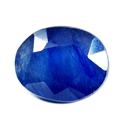 Natur Blau Saphir lose Edelstein facettiert 7Karat oval Form Chakra Heilung September Geburtsstein A +