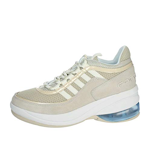 Fornarina PE19UP Sneakers Donna Beige 40