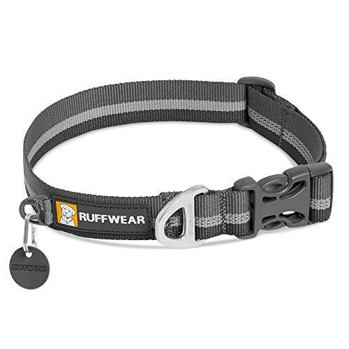 Ruffwear Crag Hundehalsband, Reflektierendes und Bequemes Halsband für den Täglichen Gebrauch, Granitgrau,...