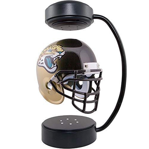 AH&Y Juegos de NFL Londres, Casco de fútbol rotativo Flotante con luz de la atmósfera, Casco de fútbol de la suspensión magnética, Colección de fanáticos de fútbol, Colección NFL, Miami Dolphins