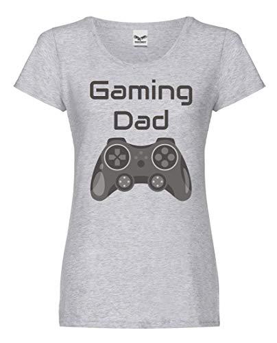 Druckerlebnis24 Camiseta – Gaming Dad Mando Consola de Juegos – Camiseta para...