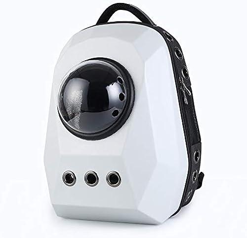 GJJ ExtraGrößer Haustierrucksack, aus dem tragbaren Rucksack des Haustierheims, Katzensackhunde-Reiserucksack, geeignet für unterwegs Null