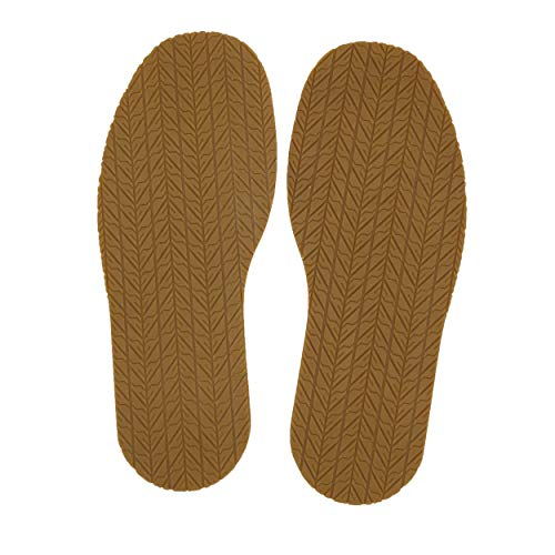 KANEIJI Shoe Replacement Rubber Out Sole, Different Colors,4mm Thickness, one Pair (Natual)