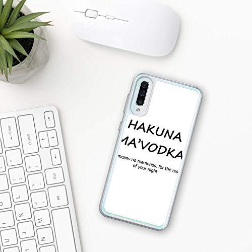Wodka Hülle Samsung Galaxy Case A10 A20 A30 A40 A50 A70 M10 M20 M30 2019 Plastik Silikon phone case Russisch, trinken Alkohol