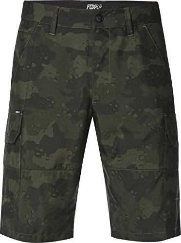Fox Herren Slambozo Modern Fit Quick Dry Tech Cargo Shorts Army1, 30