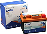 EXIDE - BATTERIE MOTORBIKE LITHIUM - Spéciale moto - Batterie 12V - 24WH - Haute performance