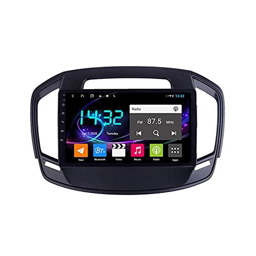 Android 10.0 Car Stereo Sat Nav Radio para Opel Insignia/Buick Regal 2014-2017 Navegación GPS 2 DIN Unidad Principal Reproductor Multimedia MP5 Receptor de Video con 4G FM DSP WiFi SWC Carplay