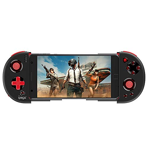 Docooler PG-9087S Controlador de Juego Inalámbrico BT con Joystick Telescopic para IOS 11-13.3.1 or Android 6.0 y superior sistema Tablet PC/ TV/ Box
