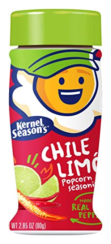 %14 OFF! Kernel Season's Chile Limon Popcorn Seasoning Shakers, 2.85 Ounce, Pack of 6