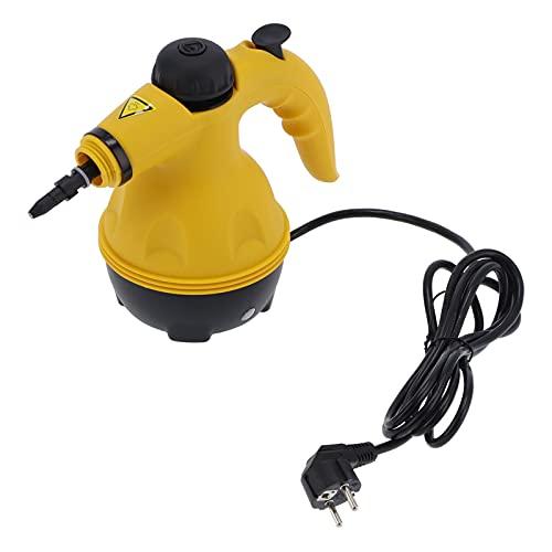 Gugxiom Limpiador A Vapor, Máquina De Limpieza Doméstica Material ABS para Limpiar Zapatillas para Limpiar Cortinas