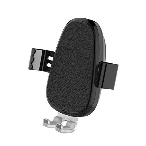 DINGXB Tenedor del teléfono del Cargador del Coche Carga Rápida QI Fast Wireless Car Charger para iPhone XS/XS Max/X/8/Más, Samsung Galaxy Note 9/S9/S8, etc