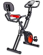 フィットネスバイク ダイエット器具 心拍数計測 静音 折りたたみ機能付き メーカー1年保証 組み立て簡単 トレーニング トレーニングバイク クロスバイク
