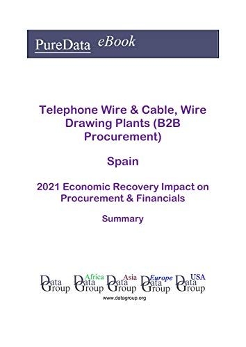 Telephone Wire & Cable, Wire Drawing Plants (B2B Procurement) Spain Summary: 2021...