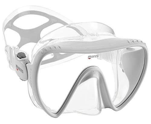 Mares Mask Essence Liquidskin Taucherbrille, Weiß, BX