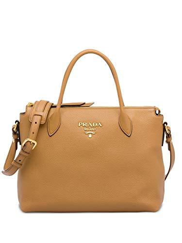 Prada Luxury Fashion Damen 1BA157VNOX2BBEF0ZDG Braun Leder Handtaschen | Frühling Sommer 20