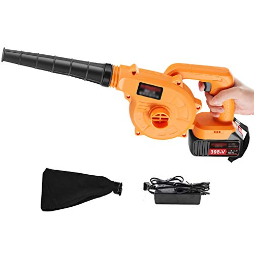 Read About ASPZQ Electric Leaf Blower - 3 in 1 Garden Blower and Vacuum & Shredder,Stepless Speed Ch...