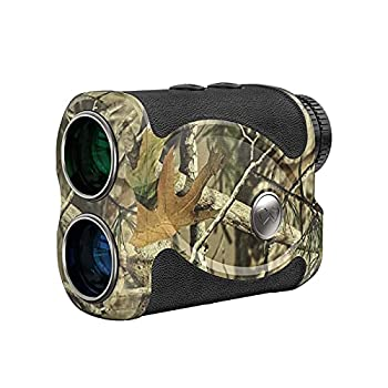WOSPORTS Hunting Range Finder 800 Yards Archery Laser Rangefinder for Bow Hunting with Flagpole Lock Ranging Scan Speed Mode Free Battery Carrying Case