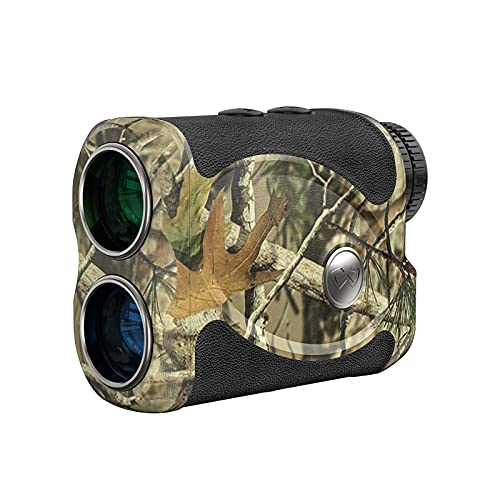 WOSPORTS Hunting Range Finder, 800 Yards Archery Laser Rangefinder for Bow Hunting with Flagpole Lock, Ranging, Scan, Speed Mode, Free Battery, Carrying Case