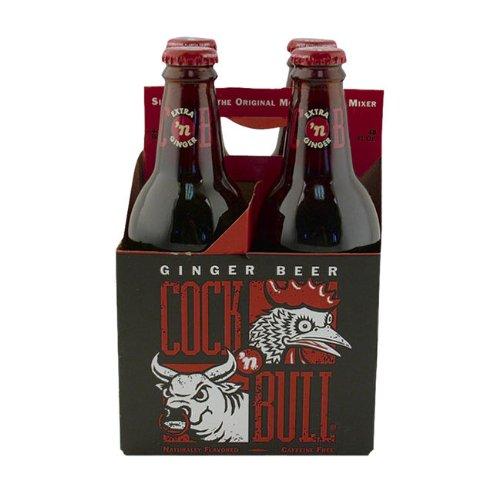 Cock n Bull Ginger Beer Soda, 12 Ounce (24 Bottles)