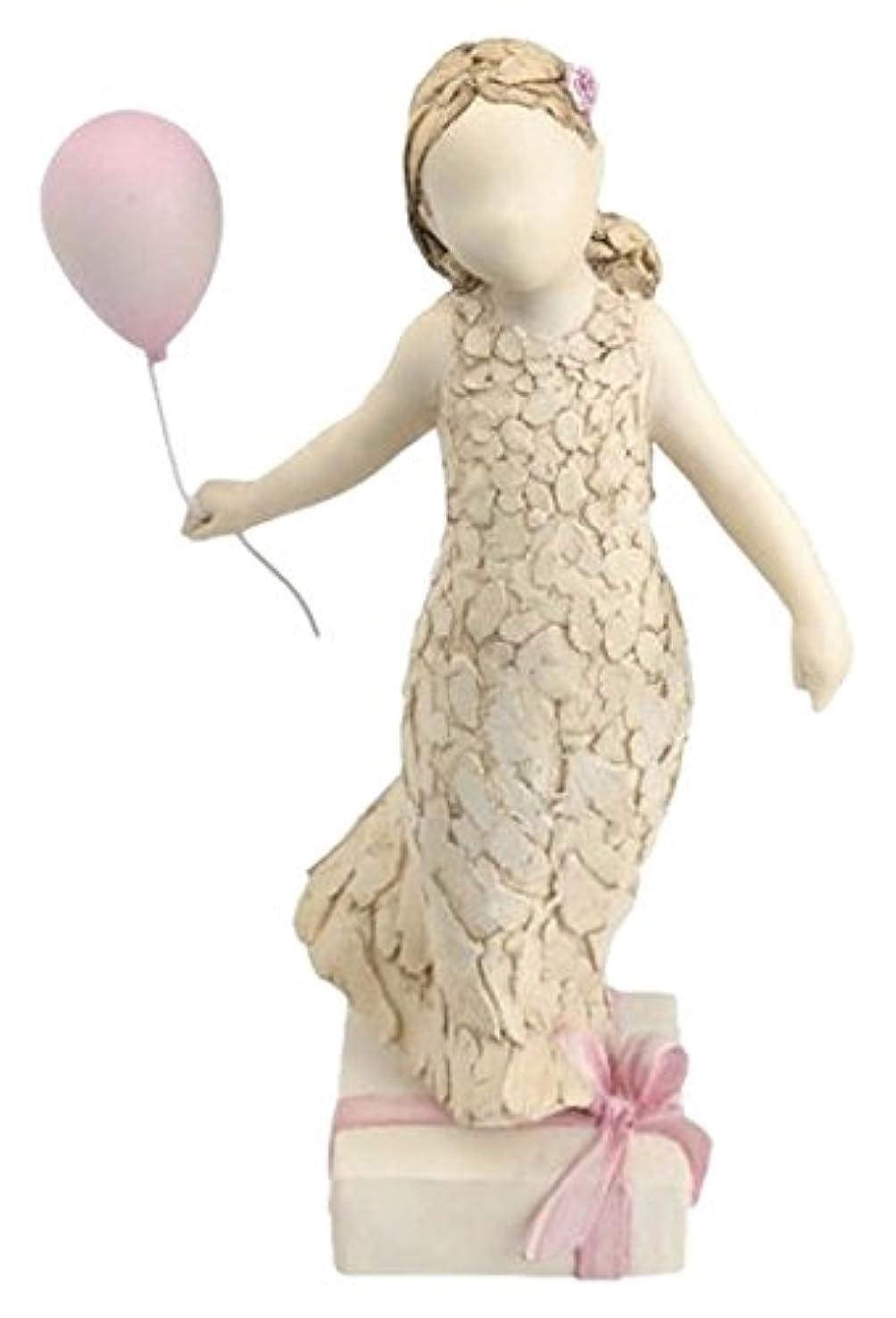 More Than Words Arora Design Sentimental Angel Figurine, Birthday Girl