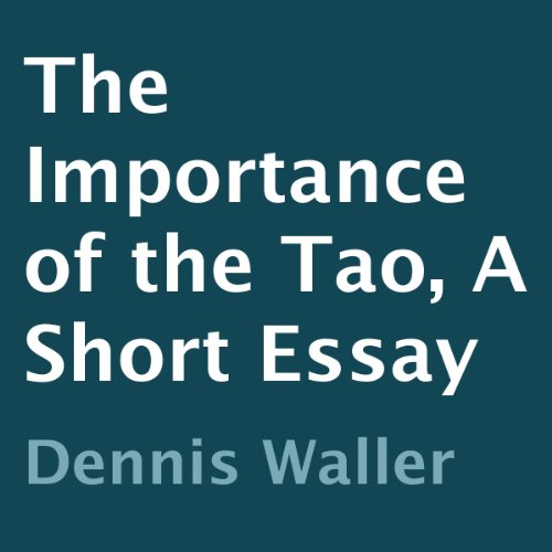 The Importance of the Tao audiobook cover art