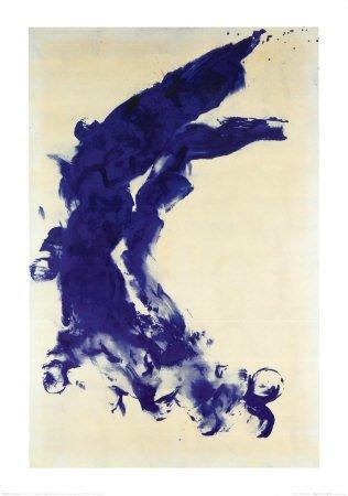 Yves Klein Poster Kunstdruck Anthropometrie (ANT 130) 1960-85 x 60 cm