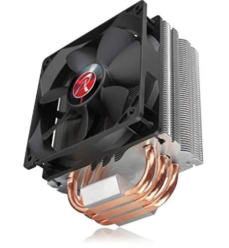 RAIJINTEK Themis Black 120mm CPU Cooler for Intel LGA 201x/1366/115x/775 & AMD Socket FM2+/FM2/FM1/AM3+/AM3/AM2+/AM2 -  0R100010