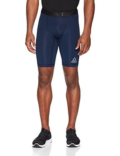 Reebok Compression Shorts, Large, Conavy